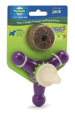 Busy Buddy Jack Small Dog Chews Interactive Dog Toys Pet Safe