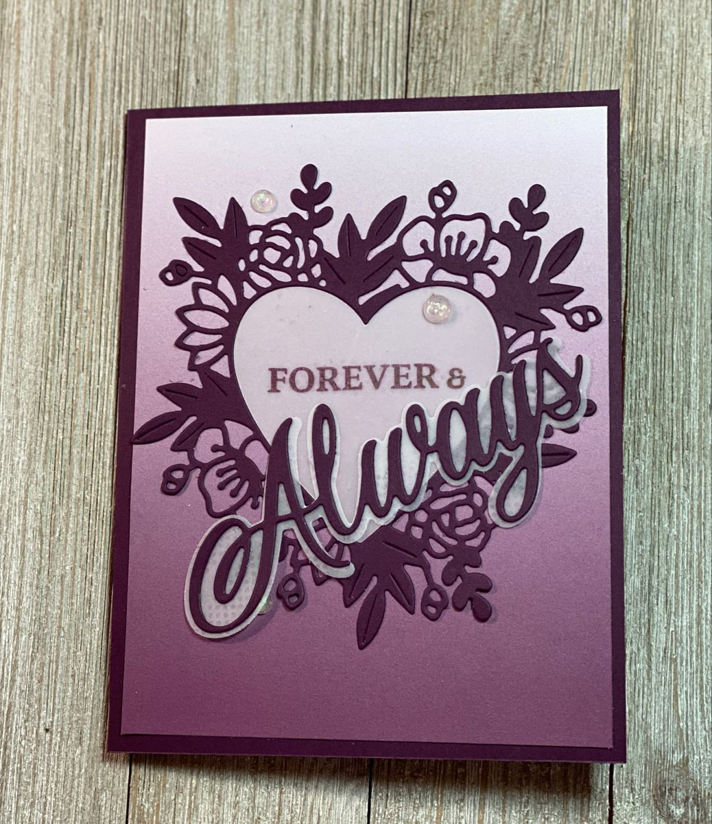 Stampin' up Love you Always Suite