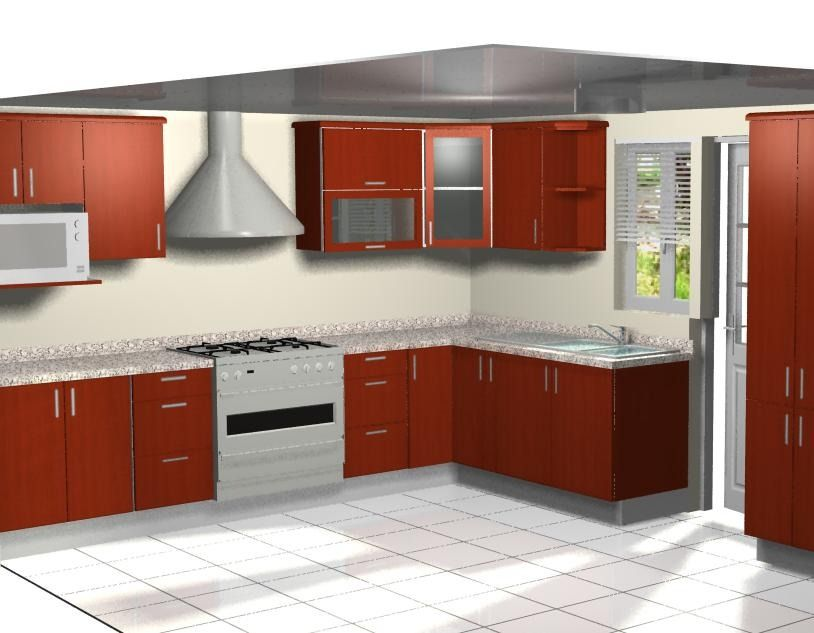 Dise o de cocinas por computadora en 3d y foto realista - Diseno 3d cocinas ...