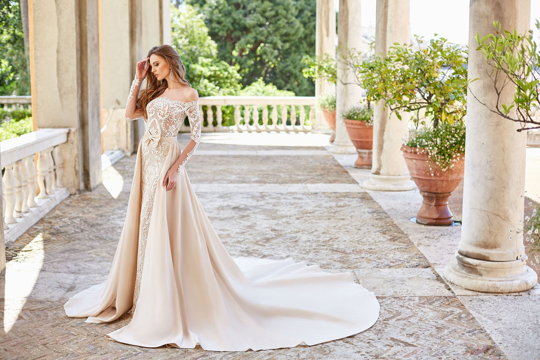 Jamala Wedding Dress By Oksana Mukha In Charme Gaby Bridal Gown Boutique Tampa Bay Fl Wedding Dresses Beautiful Dresses Best Wedding Dresses