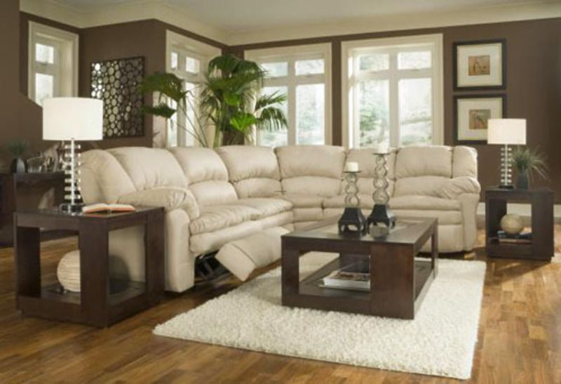 Color ideas for living rooms with tan couch cream and - Living room color ideas with brown furniture ...