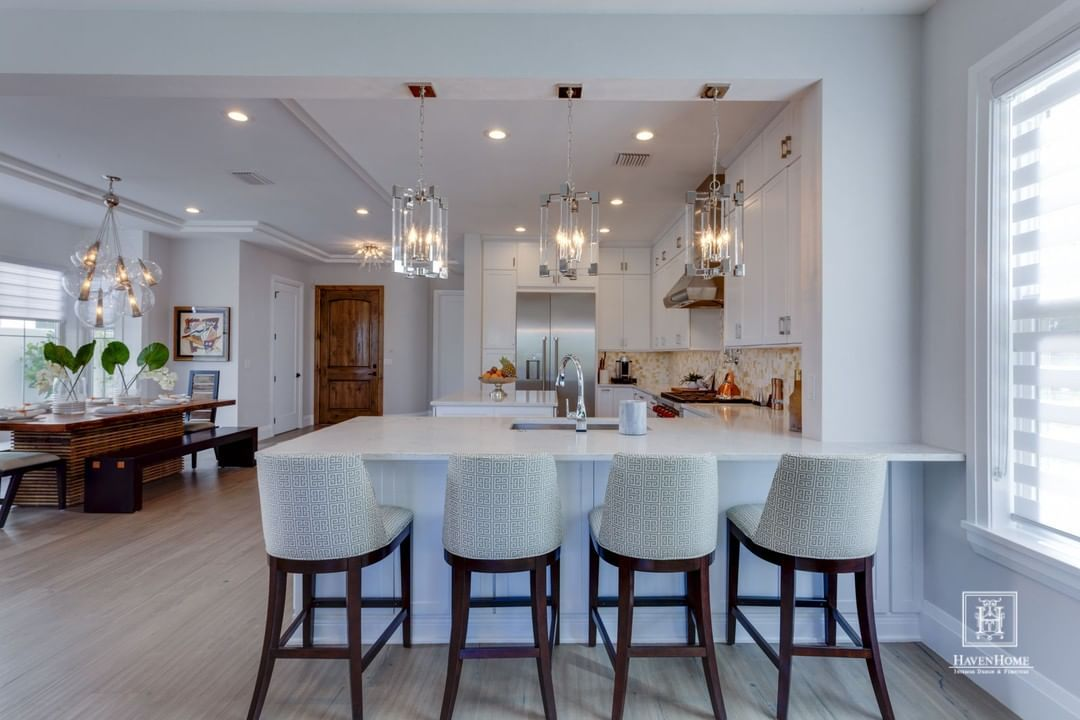 Swooning Over This Open Concept Kitchen And Dining Room And