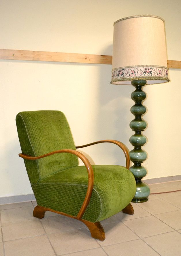 Great 30er 40er Lounge Sessel Vintage Chair