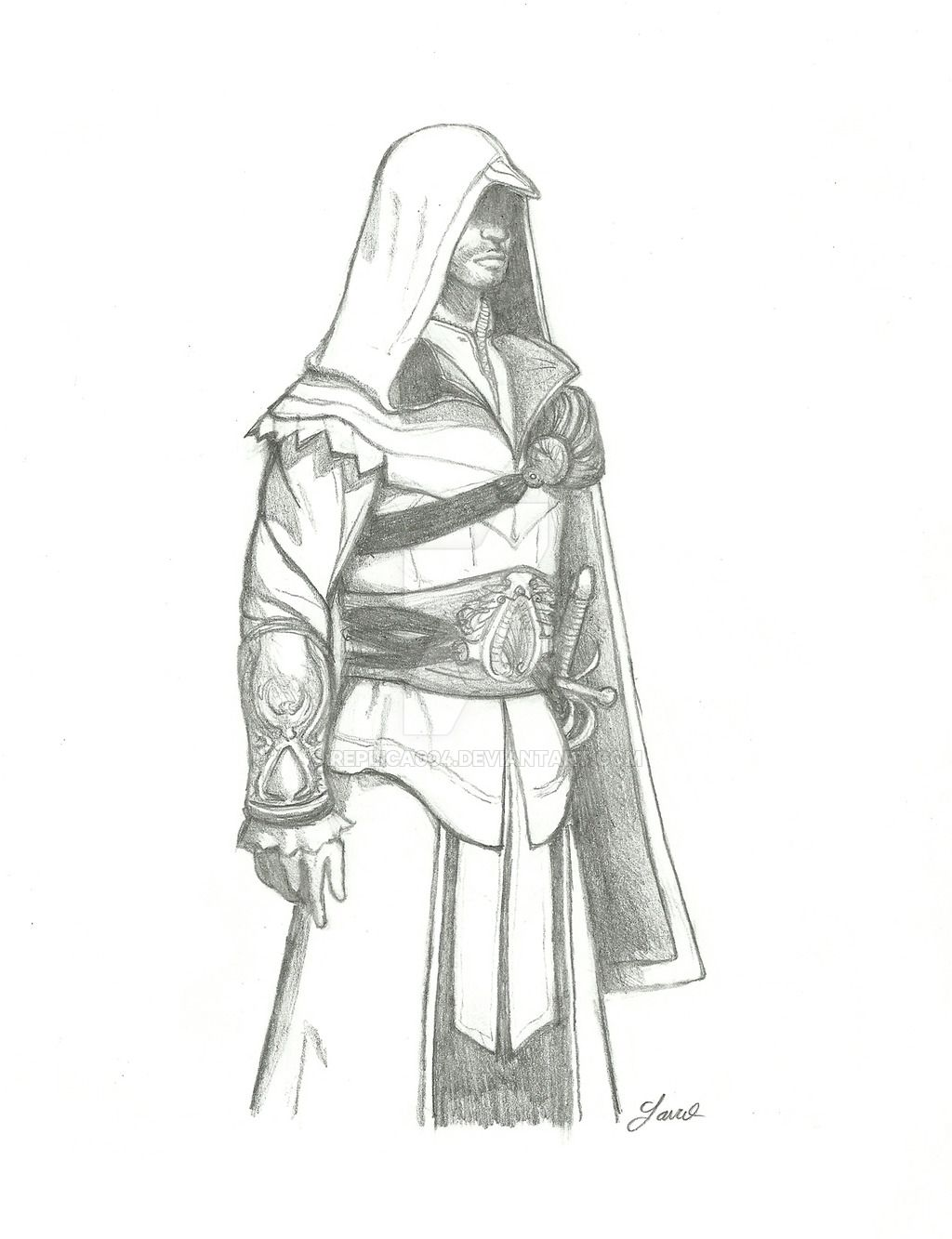 Coloriage Assassin S Creed