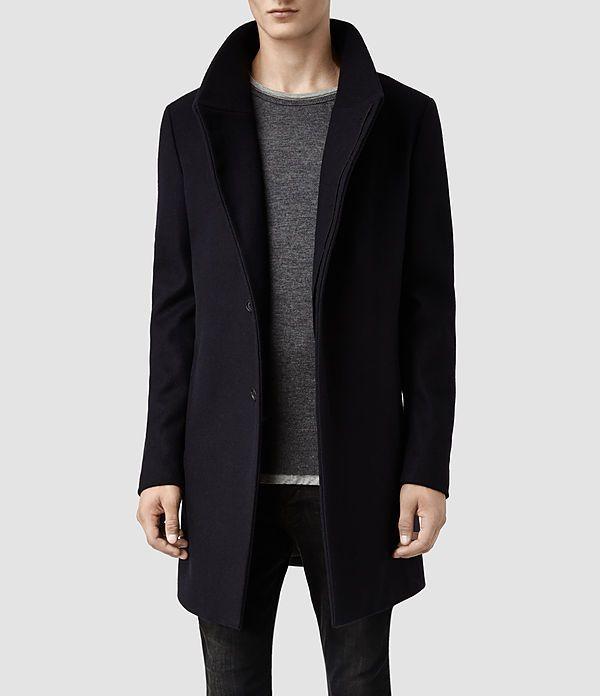 75dddfbc736 Mens Mire Coat (Khaki) - product_image_alt_text_1 | Things to Wear ...