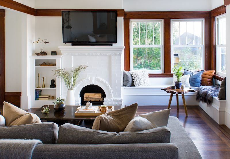 This Craftsman Makeover Will Make Your Jaw Drop is part of home Renovation Remodeling - What happens when an interior designer renovates their own home  Pure magic  Brett Goldstein poured her heart and soul into