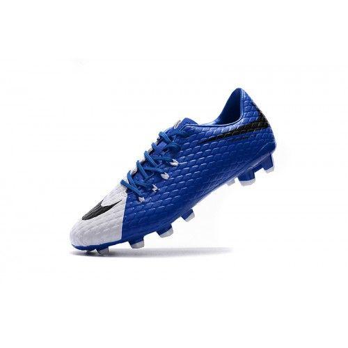 37f3057ac6 ... turquesa dorado  barato nike hypervenom iii fg azul blanco botas de  futbol