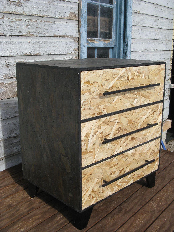 osb dresser 169 furniture pinterest dresser plywood and woods. Black Bedroom Furniture Sets. Home Design Ideas