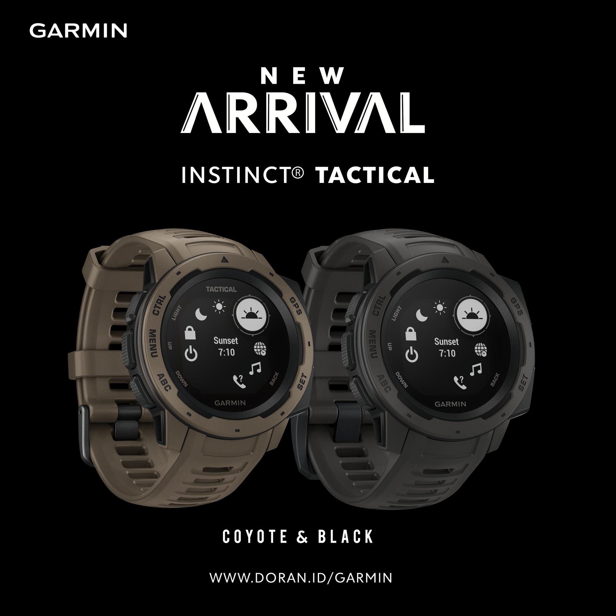 Introducing Garmin Instinct Tactical Edition Shop At Link In Bio Garmininstinct Garmin Dorangadget Garmini Garmin Fitness Military Watches Garmin