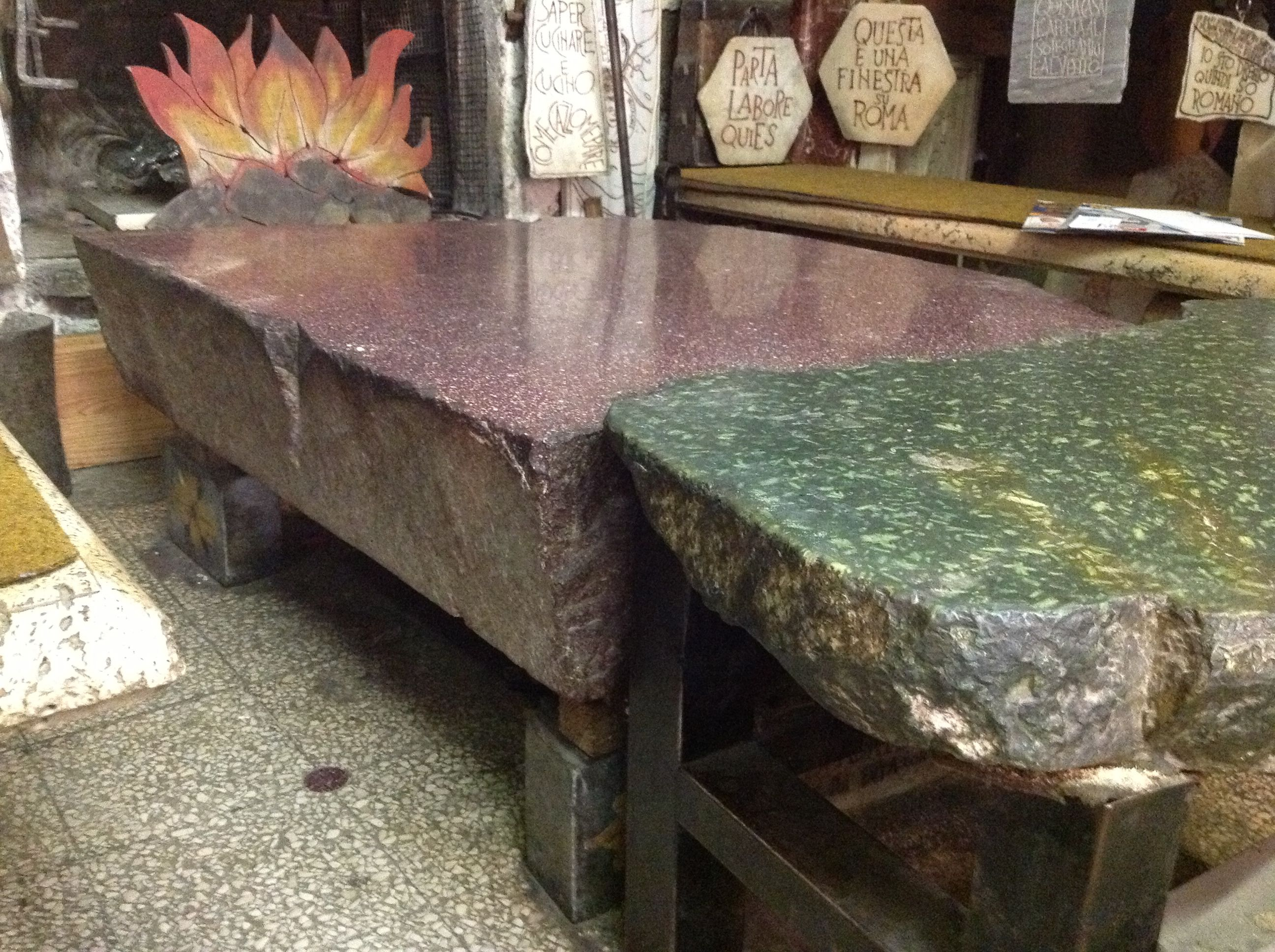 THE coffee table in Rome EGYPTIAN PORPHYRY Pinterest