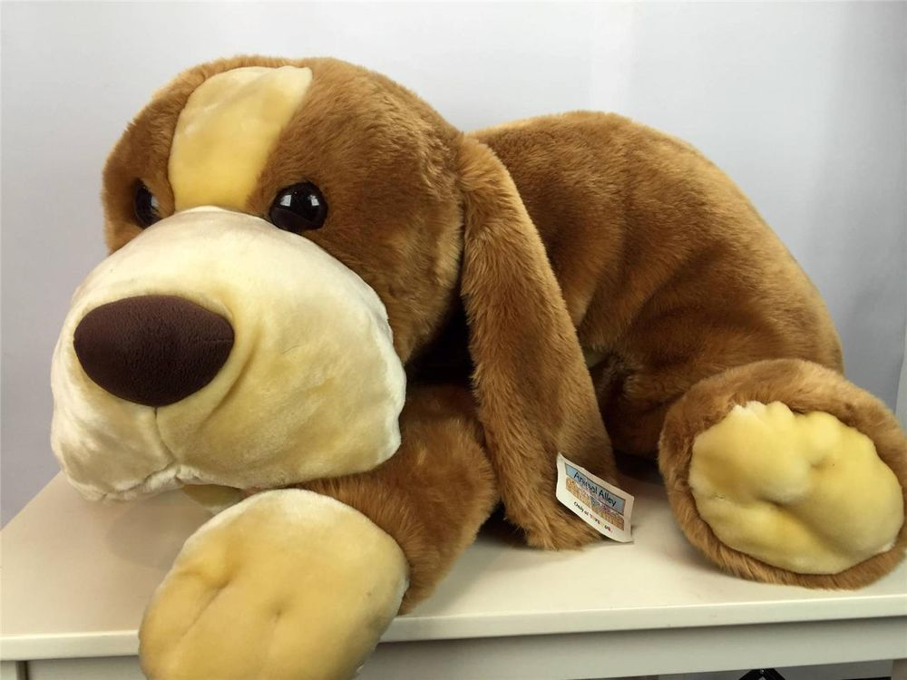 Rare Valentines Day Giant Animal Alley Brown Darby Dog Plush Jumbo Huge Animalalley Animals Giant Animals Cute Animals
