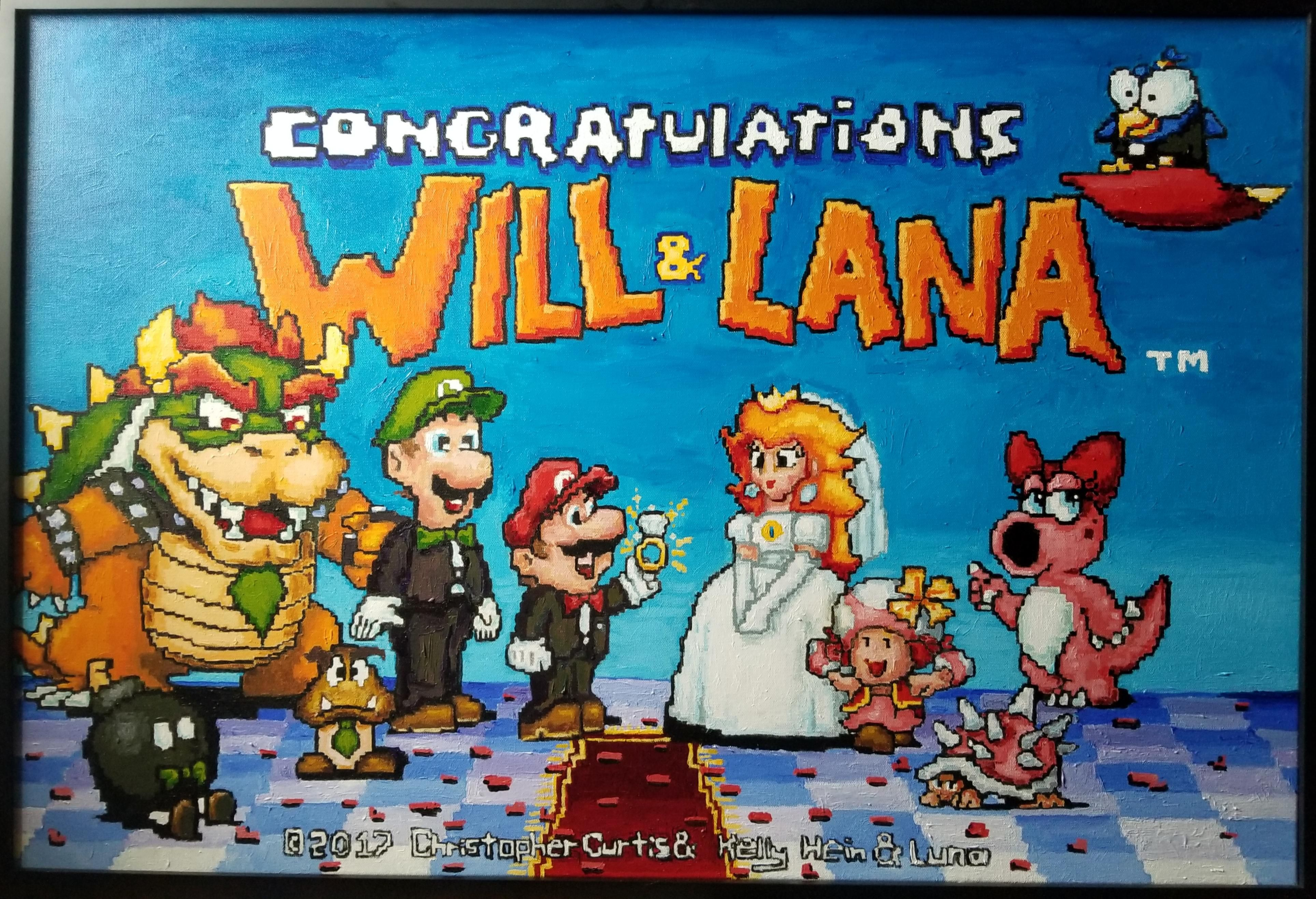 A Wedding Gift For A Couple Of Fellow Gamers News Of Video Game