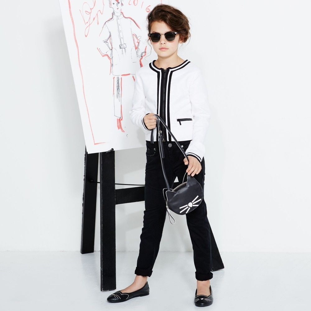 afd45703c9ba Karl Lagerfeld · Vestes Élégantes · Vestes En Tweed · http   kid -dit-mode.blogspot.fr 2016