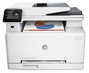 Amazon.com: HP LaserJet Pro M277dw Wireless All-in-One Color Printer: Electronics