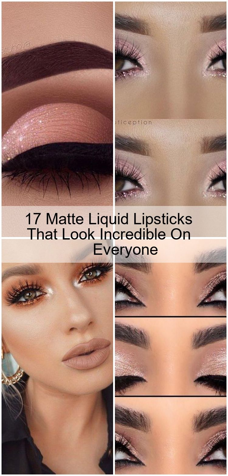 17 Matte Liquid Lipsticks That Look Incredible On Everyone 17 Matte Liquid Lipsticks That Look Incr