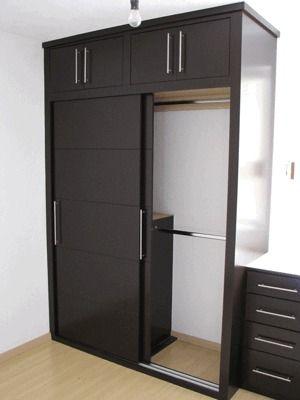 Placard madera 6 closets pinterest madera placares for Closet de madera para dormitorios