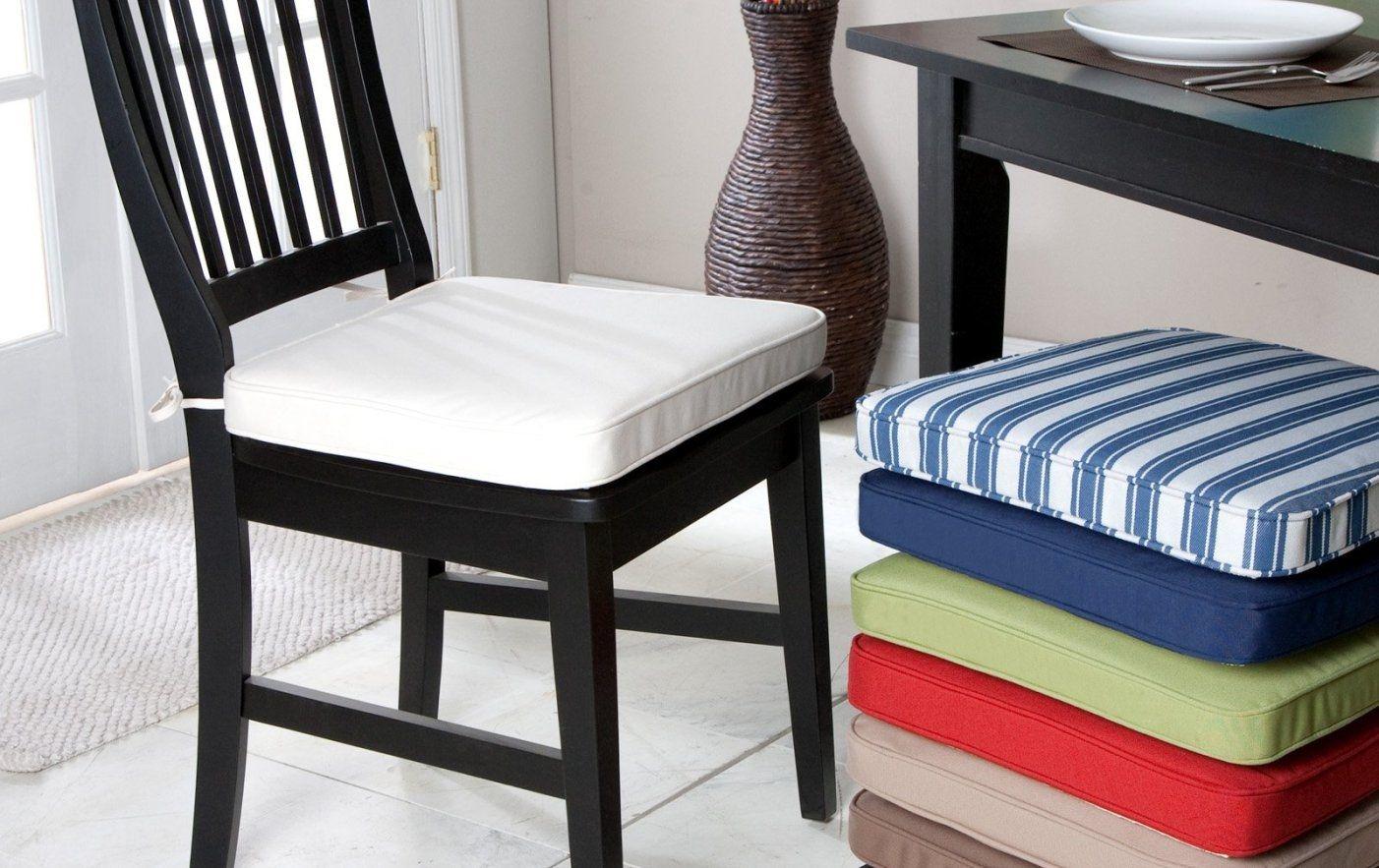 Black Kitchen Chair Cushions Non Slip