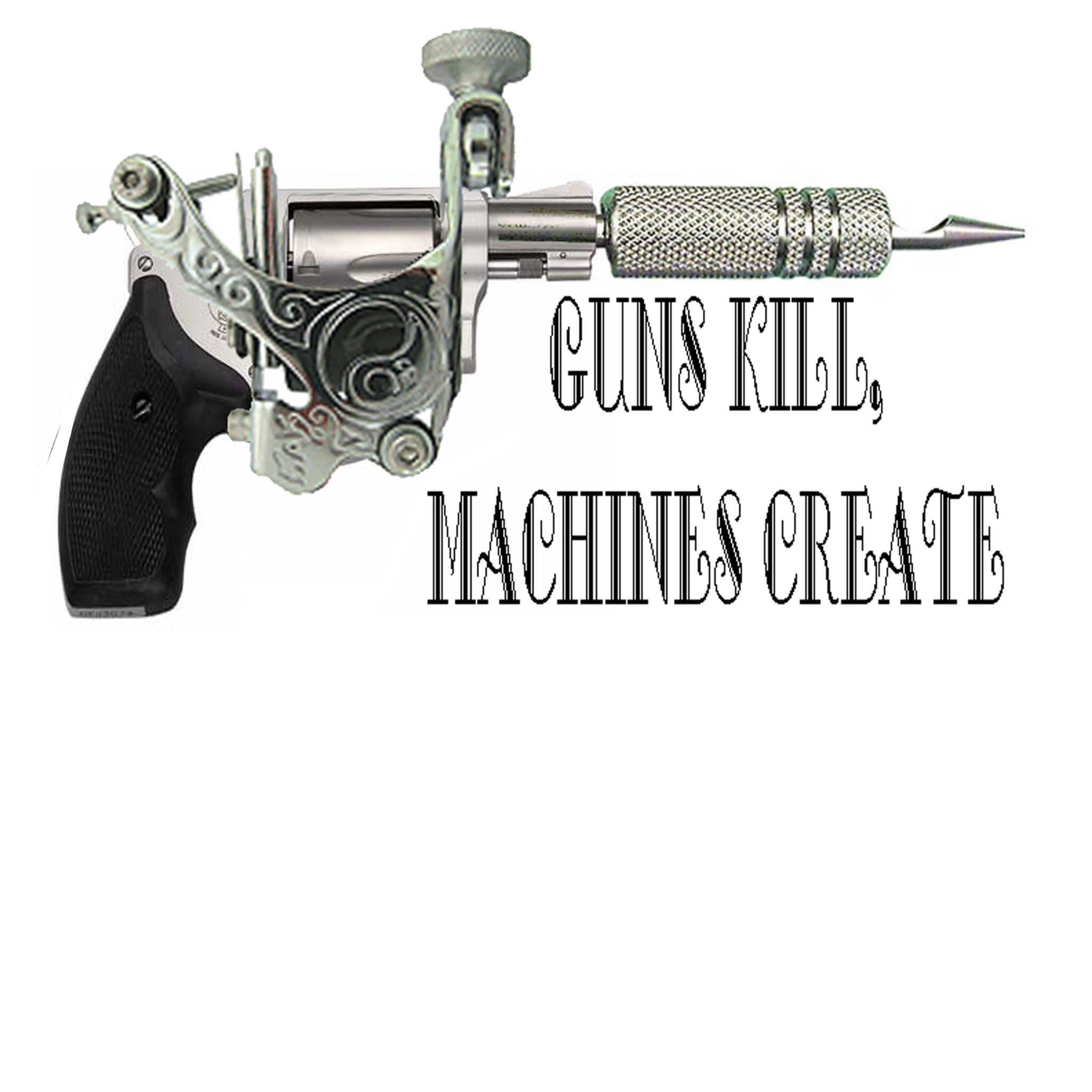 How to design a new school tattoo leaftv - Tattoo Gun Is The Gun Of My Choice