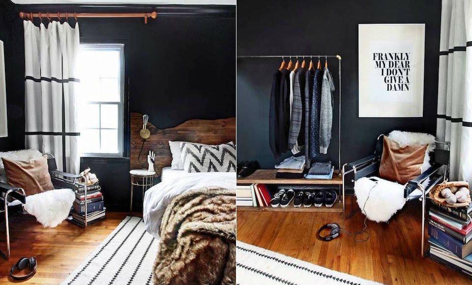 Woonkamer Zwarte Muur : Afbeeldingsresultaat voor zwarte muur woonkamer for the home