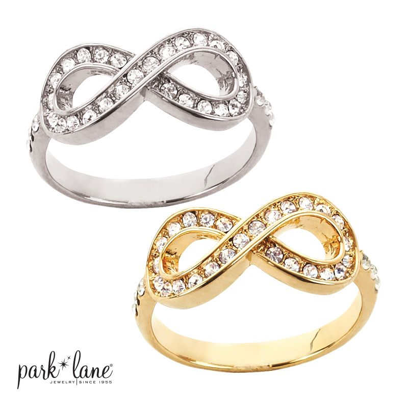 Infinite Ring . not sure if you want gold or silver...why not both...http://www.myparklane.com/mstirt