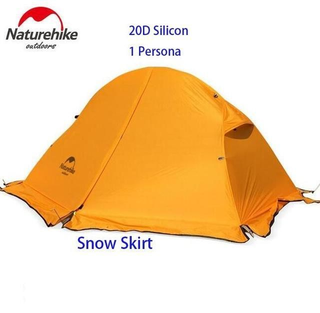 Naturehike Outdoor Travel C&ing Tent Ultralight 1-2 Person Four Season Tent Double Layer Waterproof  sc 1 st  Pinterest & Naturehike Outdoor Travel Camping Tent Ultralight 1-2 Person Four ...