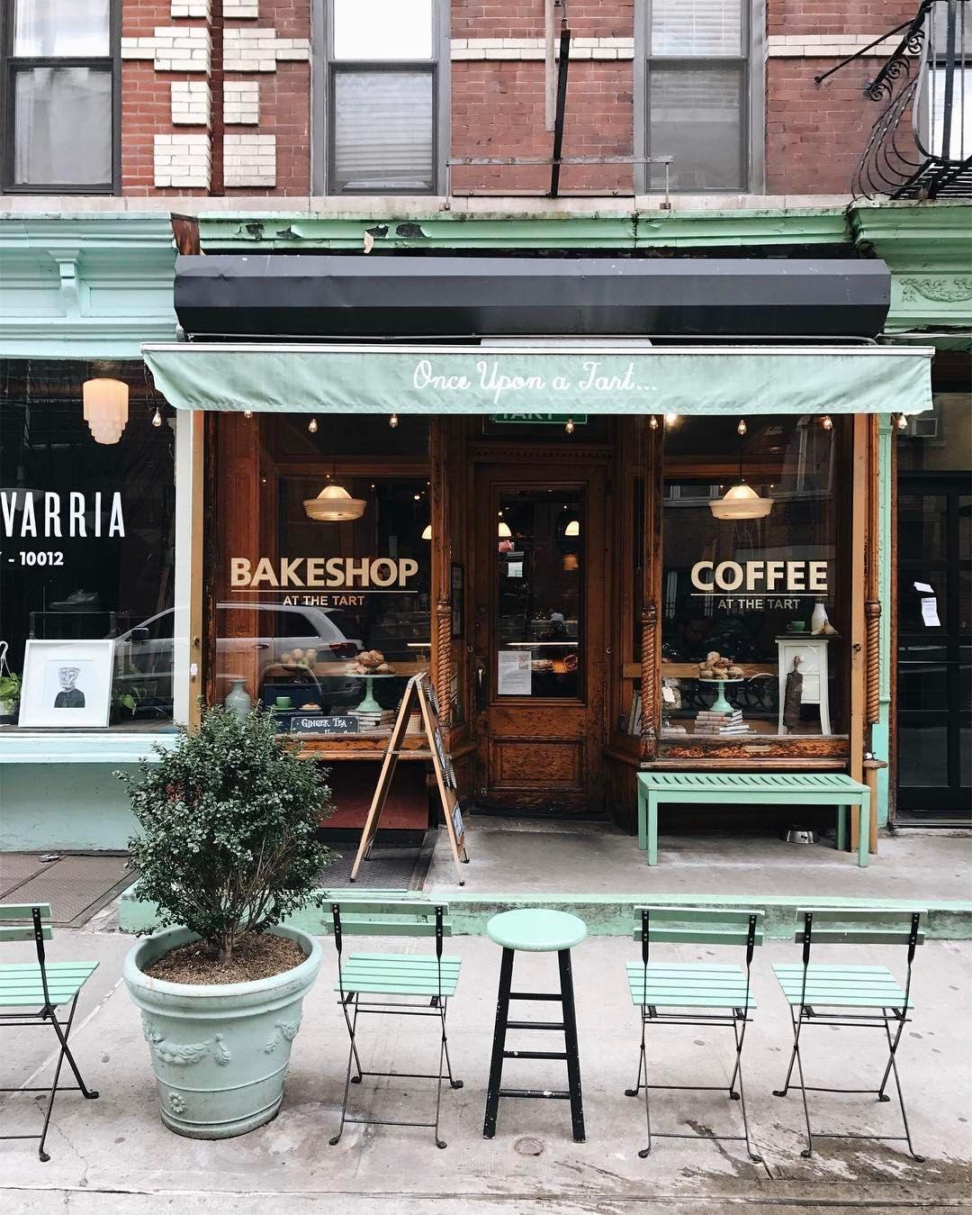 main street coffee shop sign