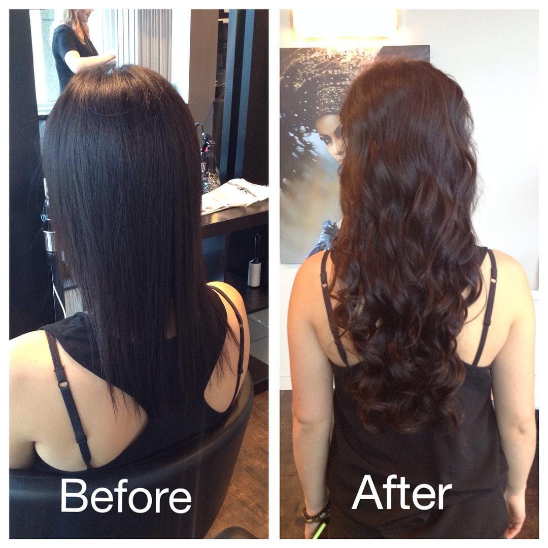 Hair Extensions Beautiful Long Shinny Heathy Natural Hair