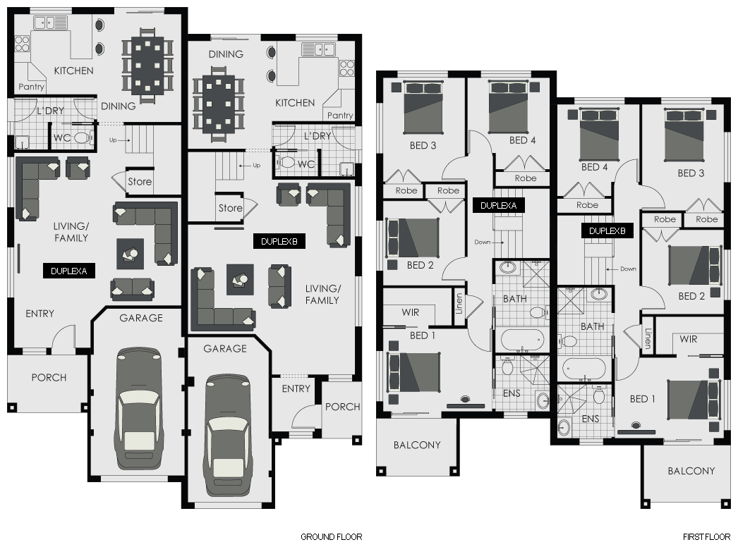 Project Home Floor Plans Sydney