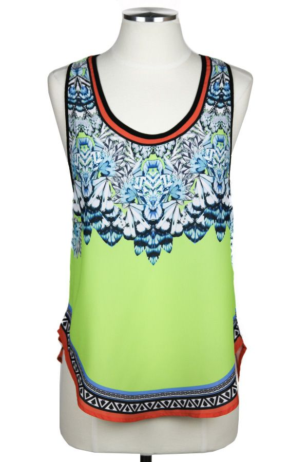 The Lime Love Top — The Impeccable Pig Boutique
