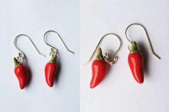Jalapeno Pepper Earring