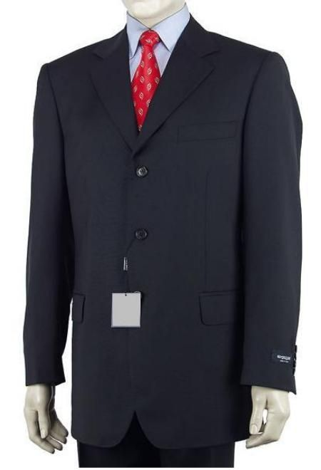 caravelli suits Zip fly with hook-and-eye and button closure ...