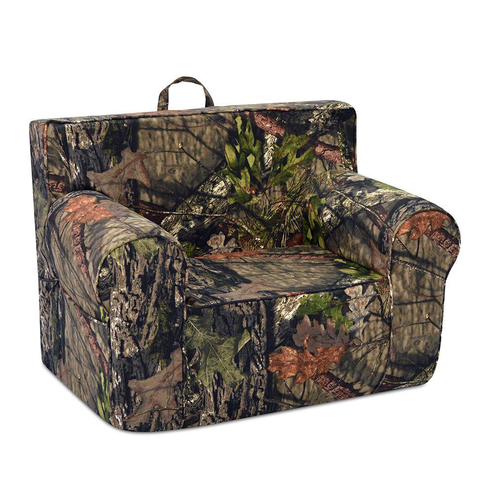 Tween Grab N Go Chair Mossy Oak Country Kids Sofa