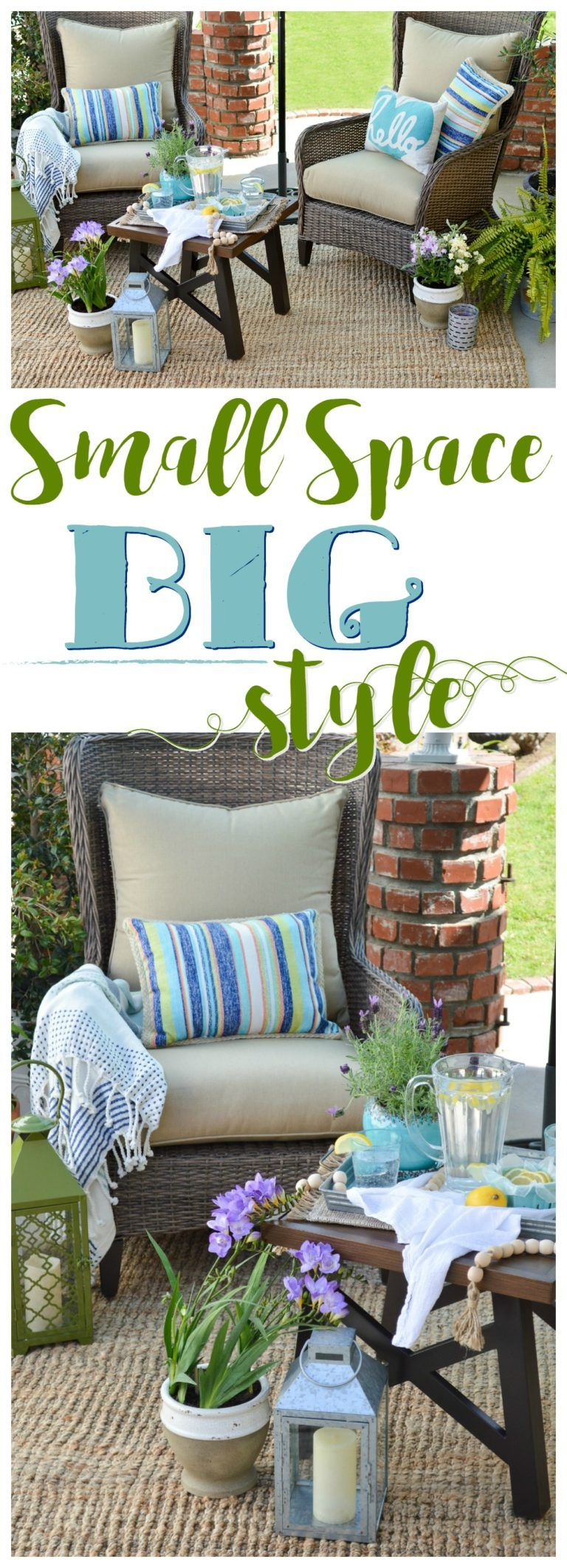 Small Space Outdoor Decorating Ideas
