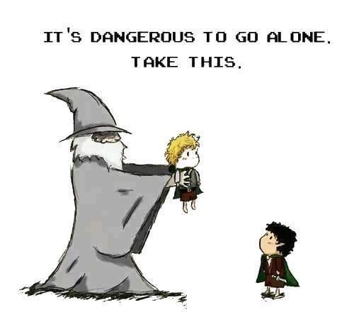 This is pretty much what Gandalf meant when he said that Sam could go with Frodo