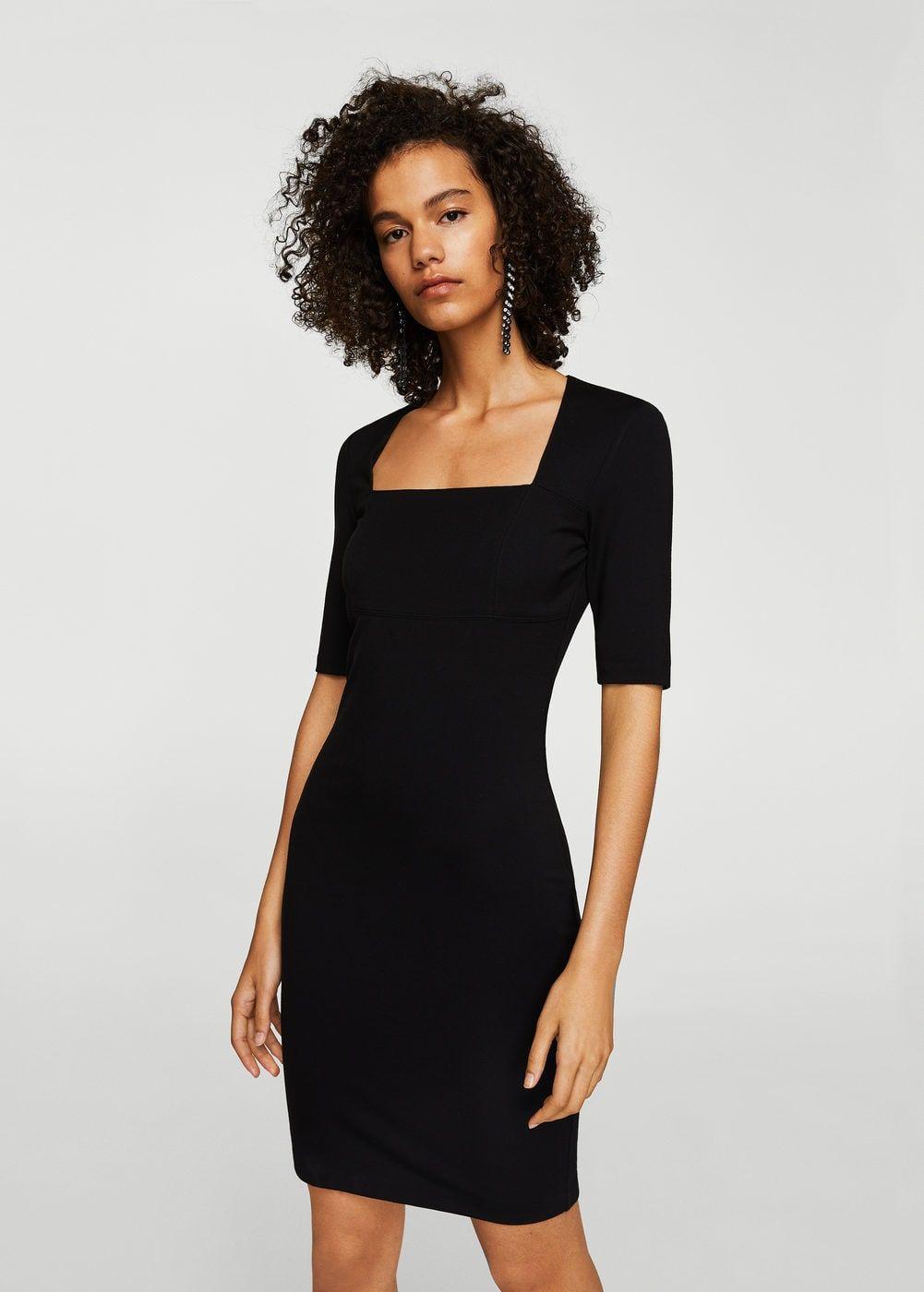 Vestido escote cuadrado - Vestidos de Mujer ad4880a259e2