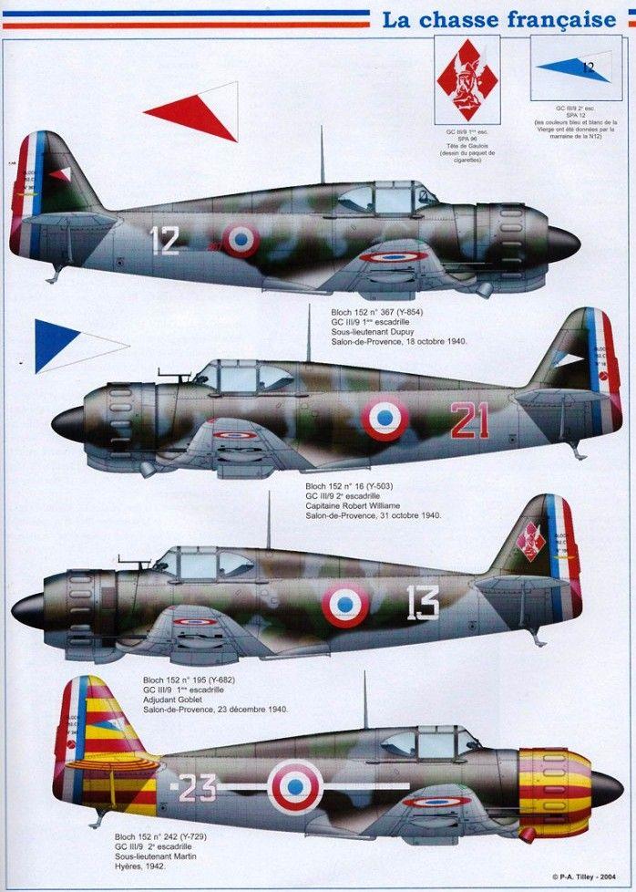 Armée De L'air Française 1940 : armée, l'air, française, Bloch, Armée, L'Air, Vintage, Aircraft,, Dassault, Aviation