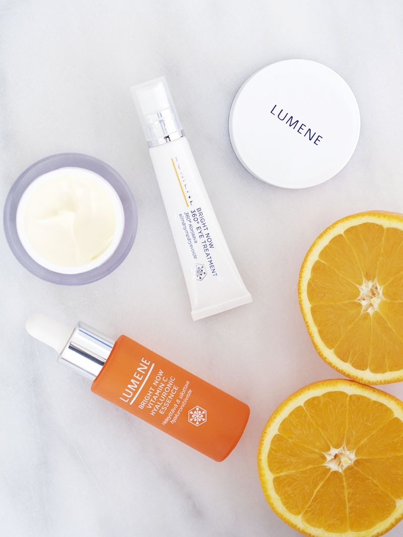 """Spring is coming - time to get your skin as radiant as the sunshine outside!"", says blogger Emilia. #skincare #lumene"