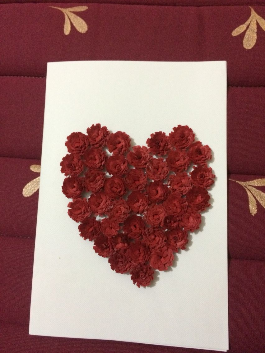 Greeting card with lots of love..quilling pattern | Quilling ...