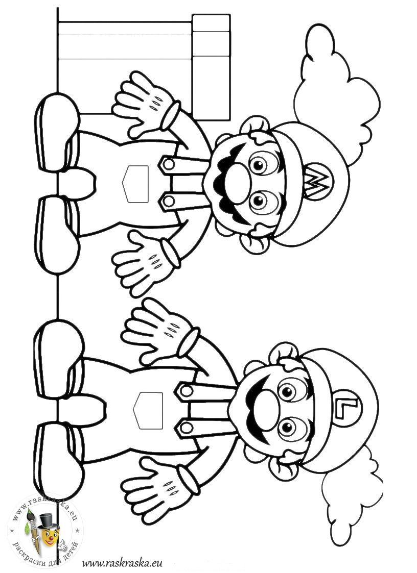 Dibujos para colorear super mario bros | black and white | Pinterest ...
