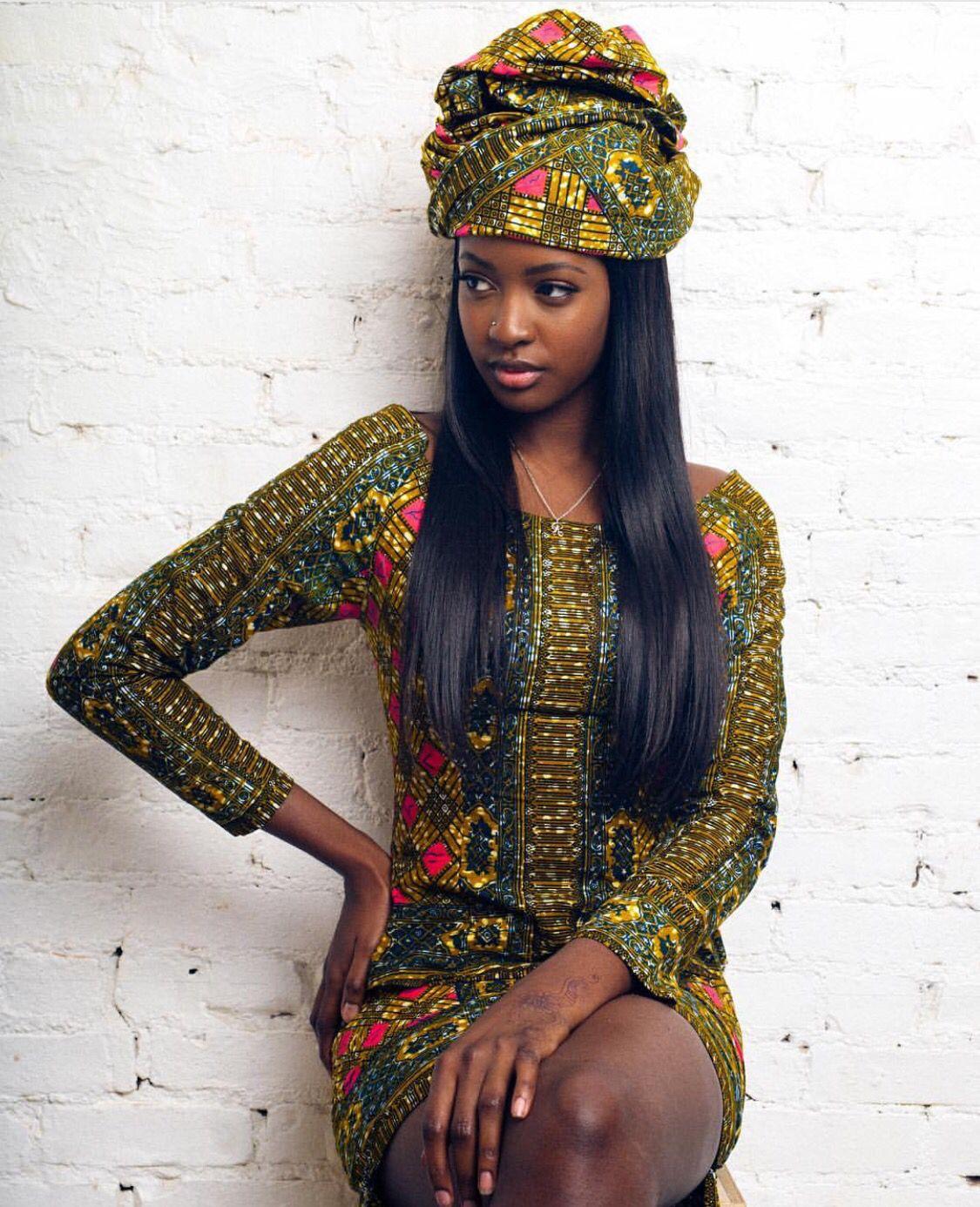African American Girls Fashion: West African Women