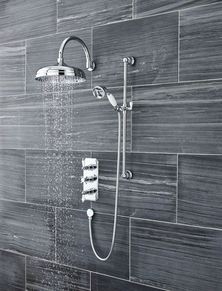 A triple shower valve can give you the best of both worlds - a ...