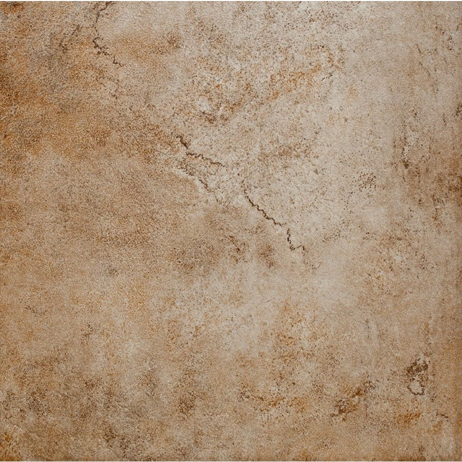 Porcelain Or Ceramic Tile For Kitchen Floor Style Selections 12 In X 12 In Mesa Beige Glazed Porcelain Floor