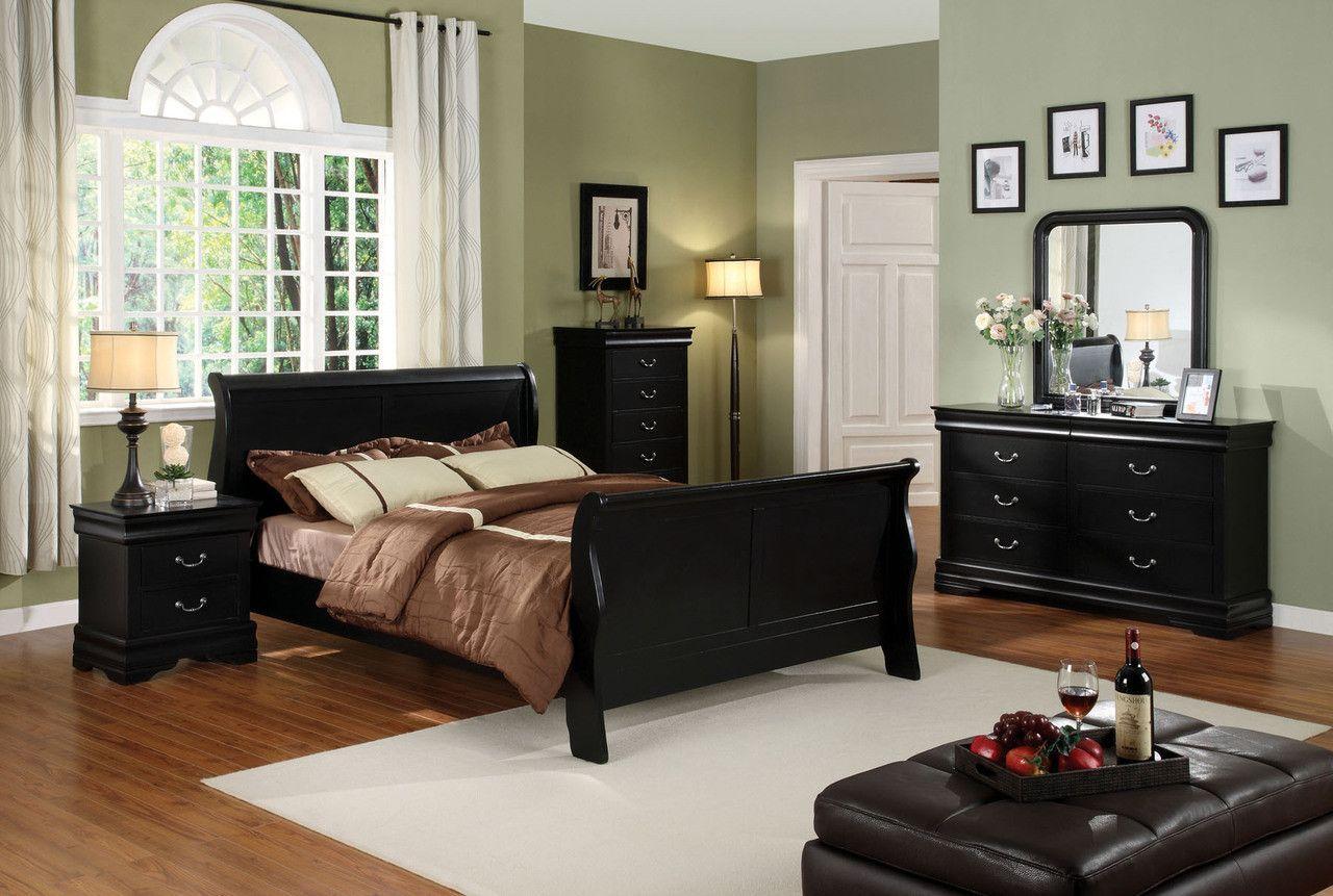 CM7825BK-Q- 5Pc Queen Bedroom Set