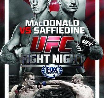 Ufc Fight Night 54 Macdonald Vs Saffiedine Fightcard