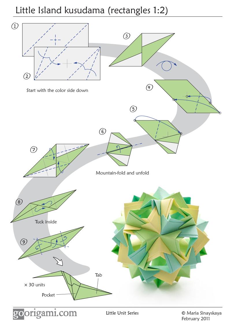Kusudama Origami
