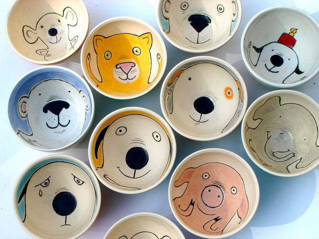 10 New Nosebowls Neuzenkommen Pottery Painting Designs Hand Painted Ceramics Ceramic Painting