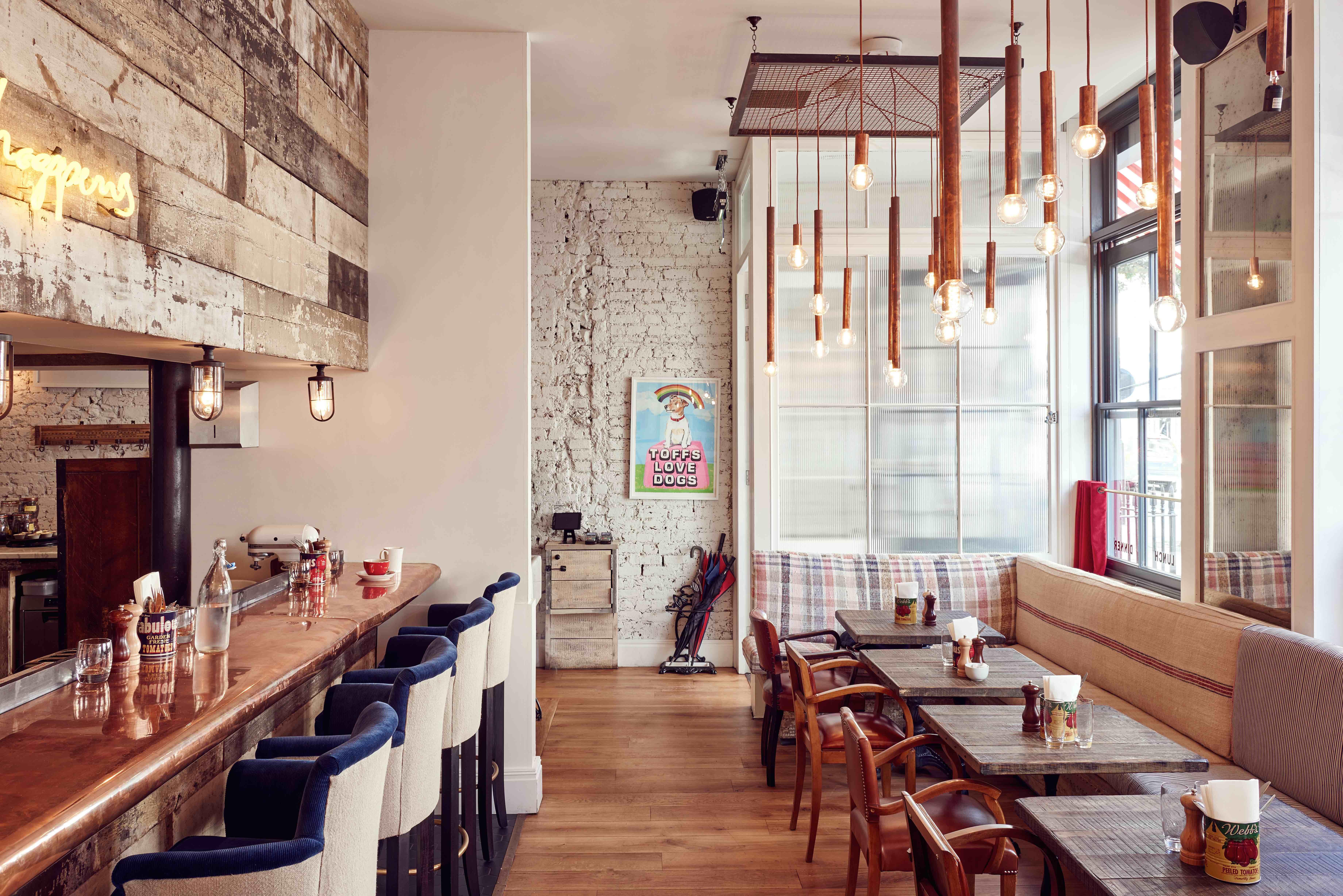 2015 restaurant bar design awards entry the cambridge street kitchen london uk restaurant or bar in a hotel - Rustic Hotel 2015