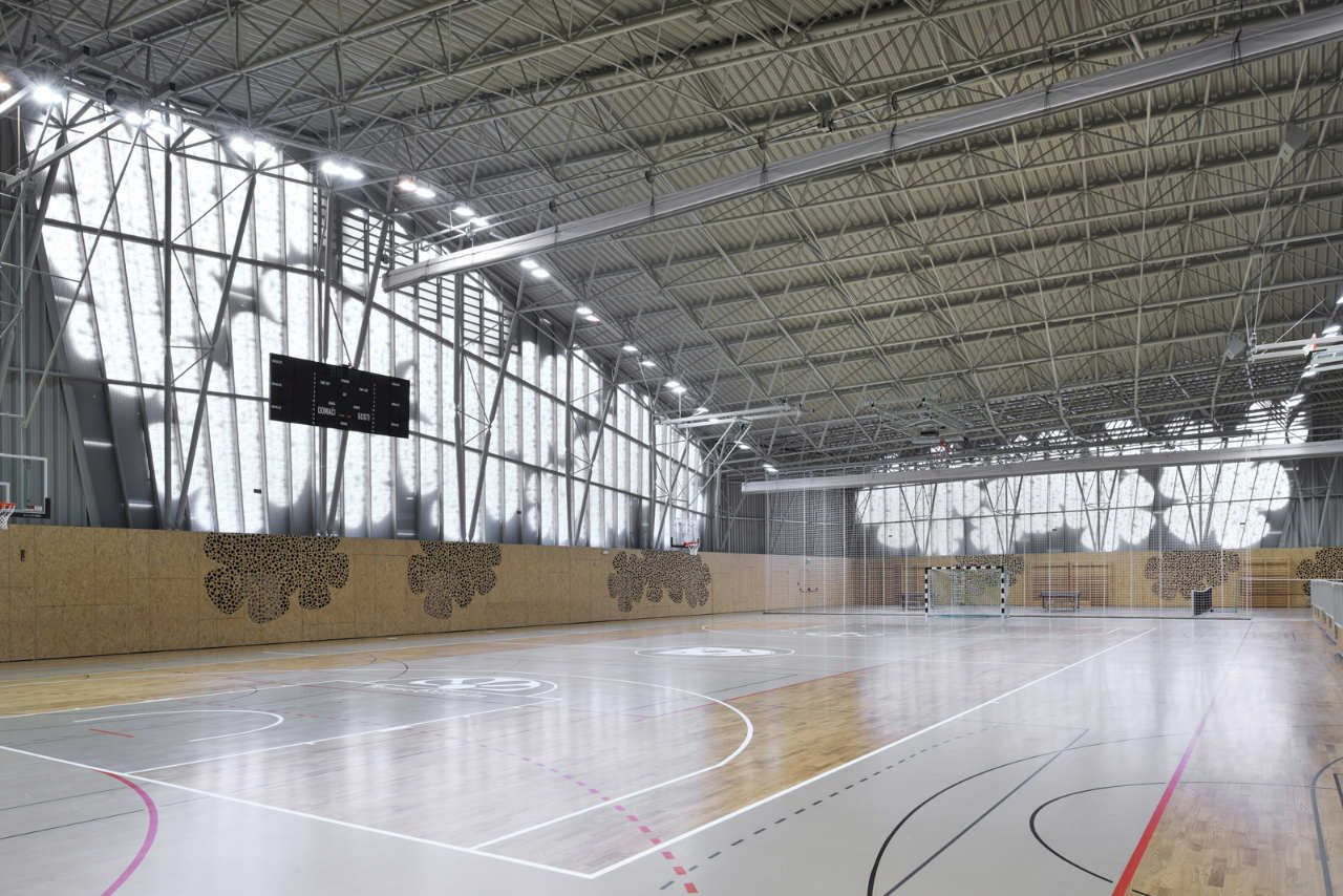 Pod etrtek sports hall enota centro deportivo for Gimnasio rivas centro