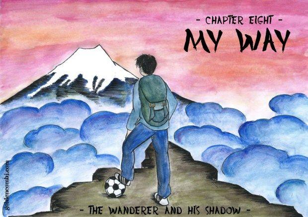 Taro Misaki in The wanderer and his shadow A Captain Tsubasa fanmanga