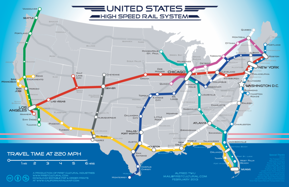 This Future Map Of The United States Is Way Cooler Than Any - Future map of the us